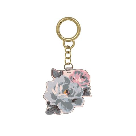 Frestonia Taupe Flower Charm