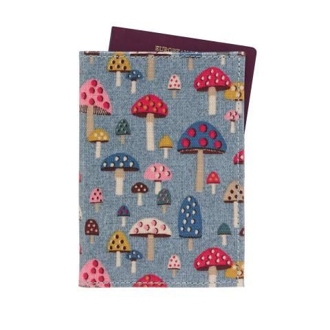 PASSPORT HOLDER MINI MUSHROOMS