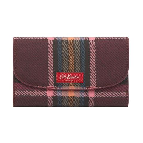 M WALLET CLARENDON CHECK