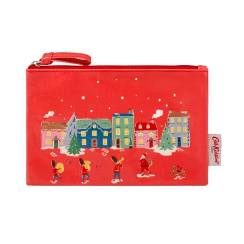 ZIP PURSE CHRISTMAS VILLAGE
