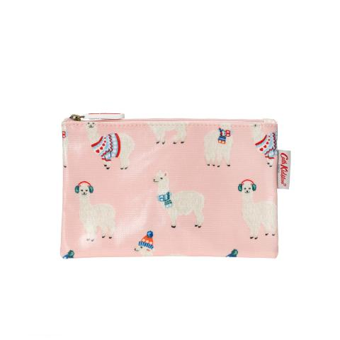 Zip Purse OCMini AlpacasSoft Blush