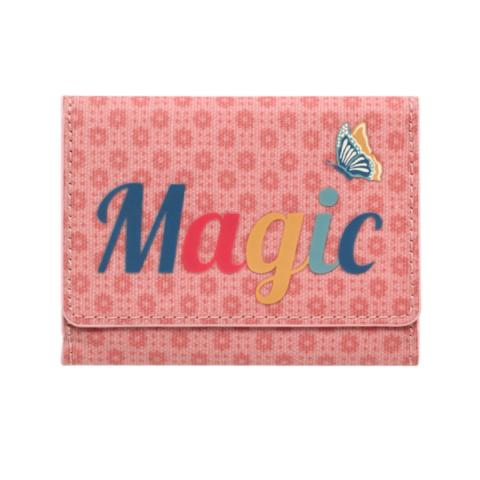 MAGIC TICKET HOLDER SHADOW FLOWERS