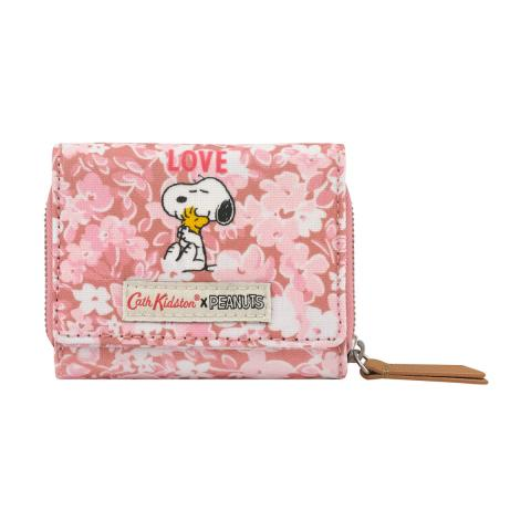 Wallet Snoopy Love Paper Ditsy