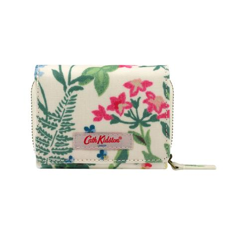 SMALL FOLDOVER WALLET CREAM