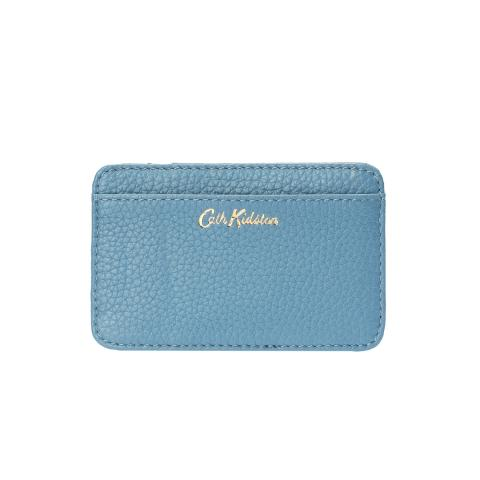 LEATHER CURVED CARD HOLDER D
