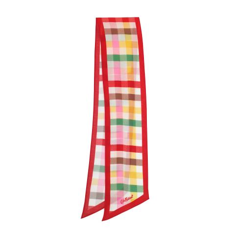 SCARF GINGHAM CHECK