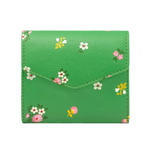 M WALLET SPACED BATH FLOWERS