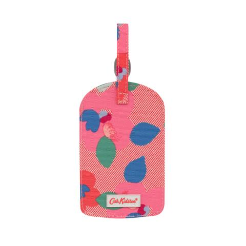 LUGGAGE TAG LARGE PANSY TWILL