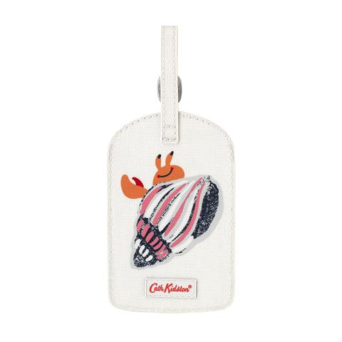 LUGGAGE TAG SEASIDE SHELLS