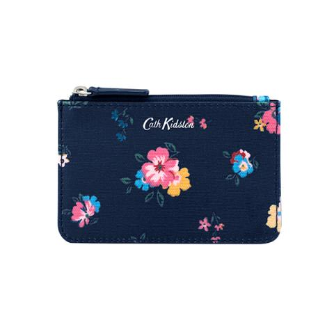 SMALL CARD & COIN PURSE PARK MEADOW NAVY