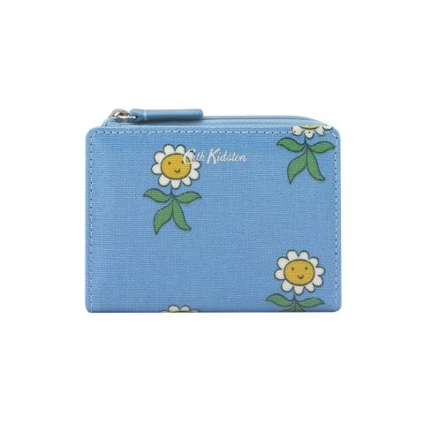 SLIM POCKET PURSE PETAL FLOWERS