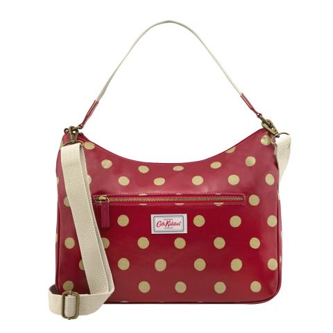 CURVE SHOULDER BAG BUTTON SPOT