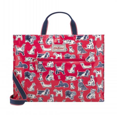 STRAPPY CARRYALL SQUIGGLE DOGS