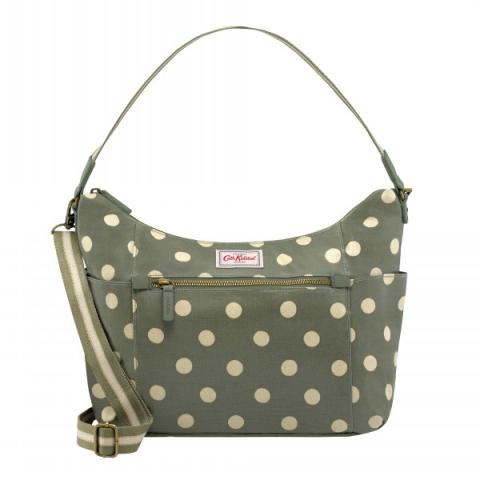 HEYWOOD SHOULDER BAG BUTTON SPOT