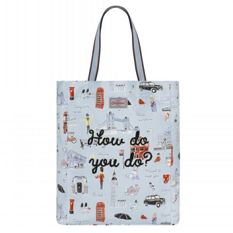 LIGHTWEIGHT TOTE LONDON ICONS