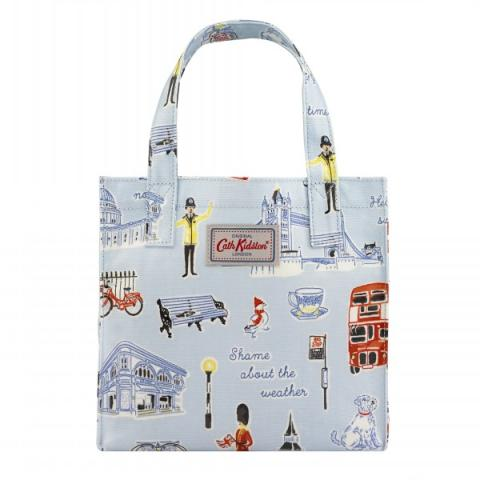 SMALL BOOKBAG LONDON ICONS
