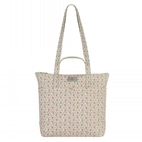 DOUBLE HANDLE COTTON TOTE PROVENCE ROSE