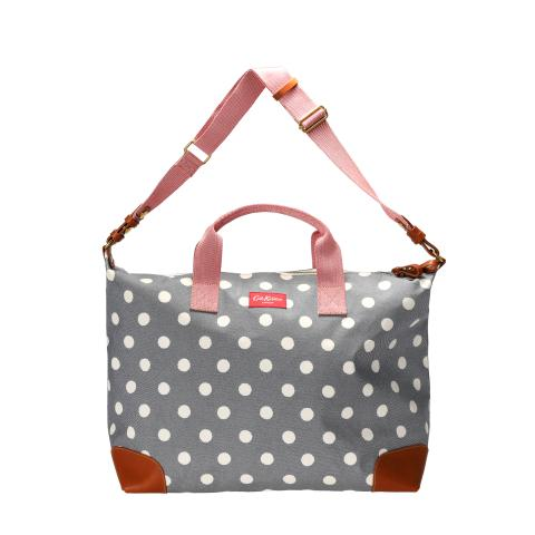 TRAVEL BAG BUTTON SPOT TWILL