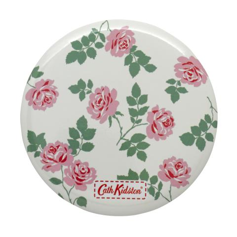 POCKET MIRROR SMALL BROOKE ROSE CREAM