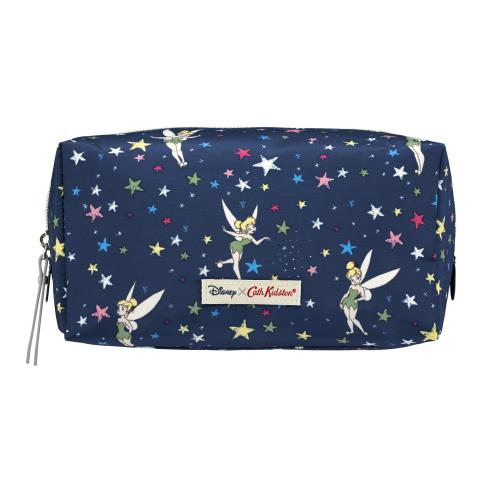 DISNEY BOX WASH BAG TINKER BELL STARRY NIGHT NAVY