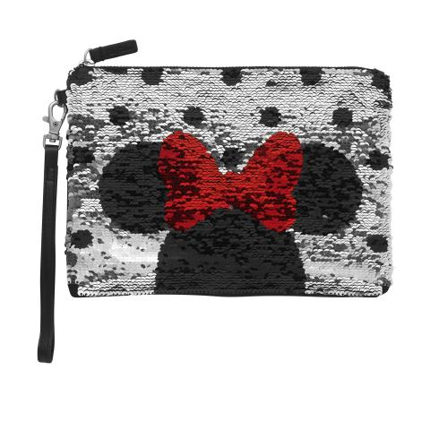 Disney Reversible Sequin Pouch Solid Slate Grey