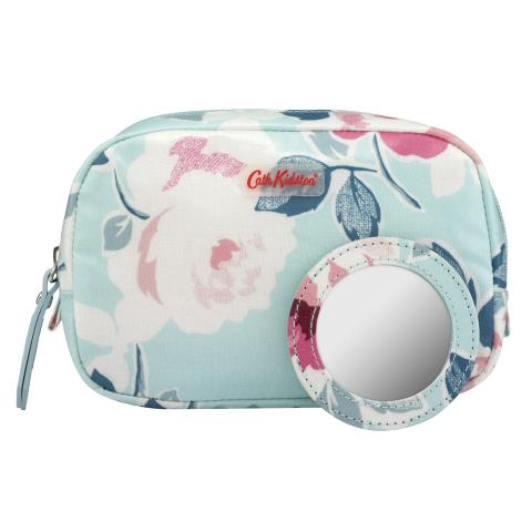 CLASSIC BOX MAKE-UP CASE PAPER ROSE POWDER BLUE