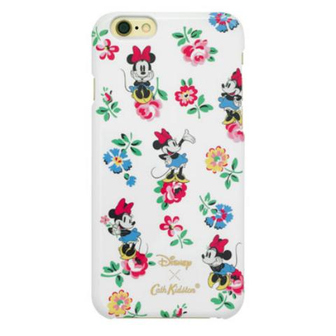 DISNEY IPHONE 7 CASE MINNIE LINEN SPRIG CREAM