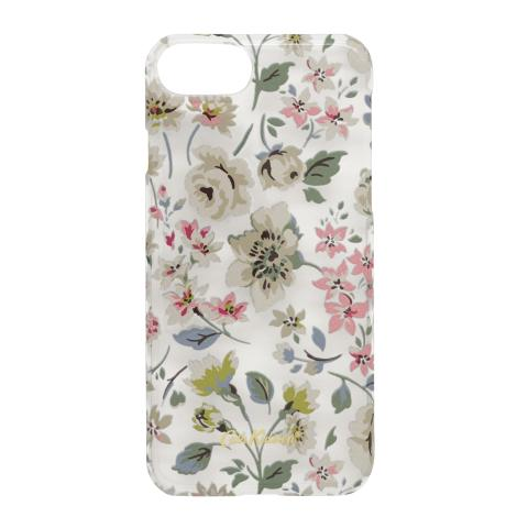 IPHONE 7 CLEAR PRINTED PHONE CASE PRESSED FLOWERS CLEAR