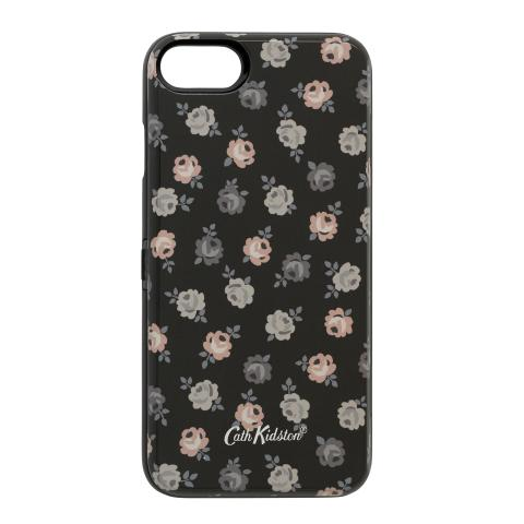 IPHONE 7 CASE W/MIRROR LUCKY ROSE CHARCOAL