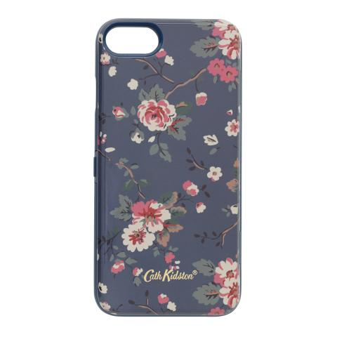 IPHONE 7 CASE W/MIRROR TRAILING ROSE MID BLUE