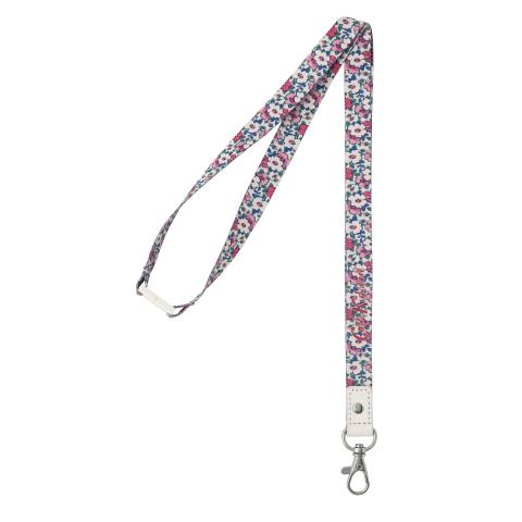 LANYARD POLYESTER MEADOWFIELD DITSY PARCHMENT