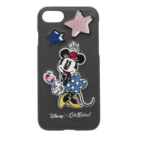 Disney Iphone 7 Patch Phone Case Mickey & Minnie Little Patches Slate Grey