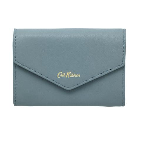 LEATHER MINI PURSE SOFT TEAL