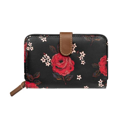 WALLET LITTLE JACQUARD ROSE