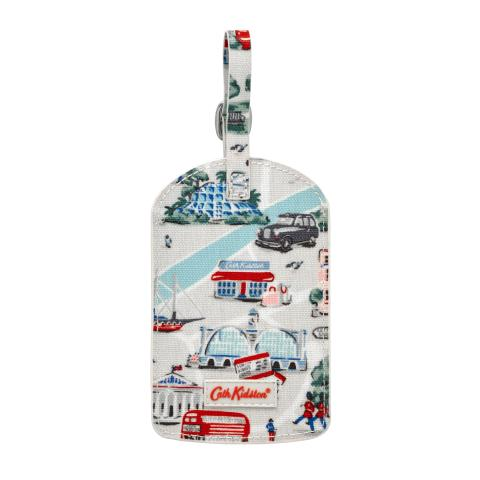 LUGGAGE TAG SMALL LONDON MAP