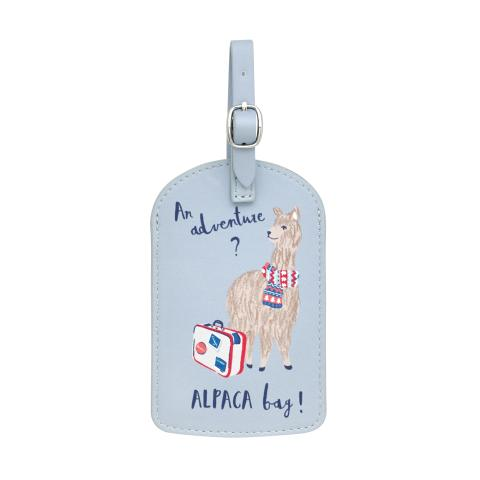 LUGGAGE TAG ALPACAS