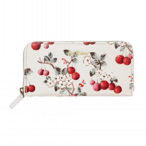CONTINENTAL ZIP WALLET CHERRY SPRIG