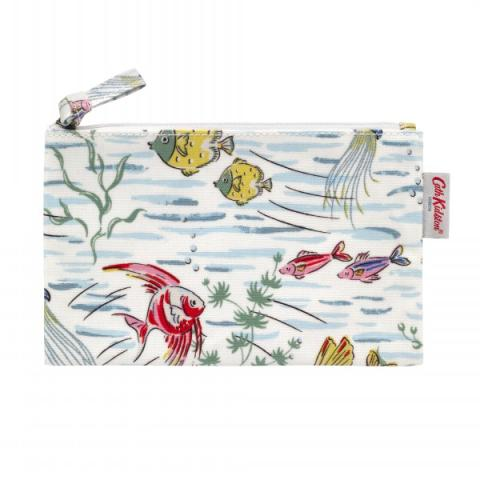 ZIP PURSE MINI OCEAN FISH