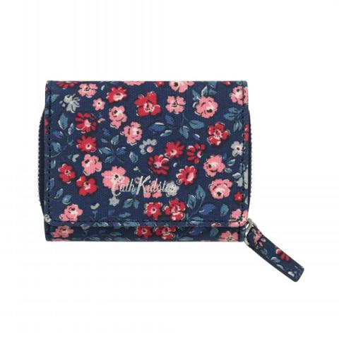 SMALL FOLDOVER WALLET DULWICH DITSY