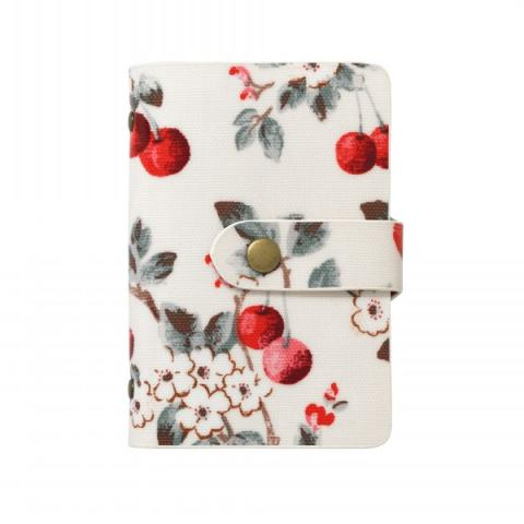 BOOK STYLE CARD HOLDER CHERRY SPRIG
