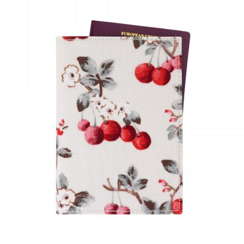 PASSPORT HOLDER CHERRY SPRIG