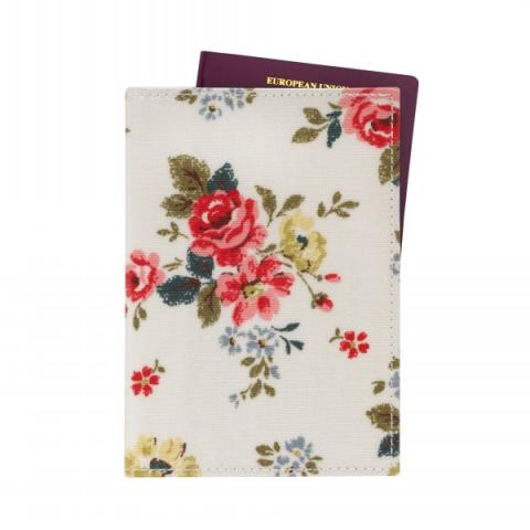 PASSPORT HOLDER FIELD ROSE