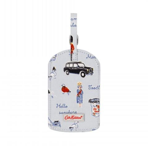 LUGGAGE TAG MINI LONDON ICONS