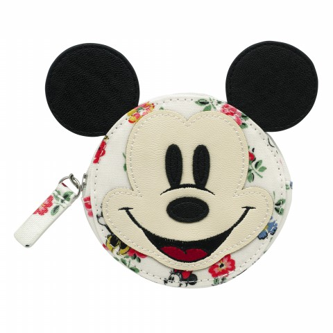 DISNEY COIN PURSE MINNIE LINEN SPRIG CREAM