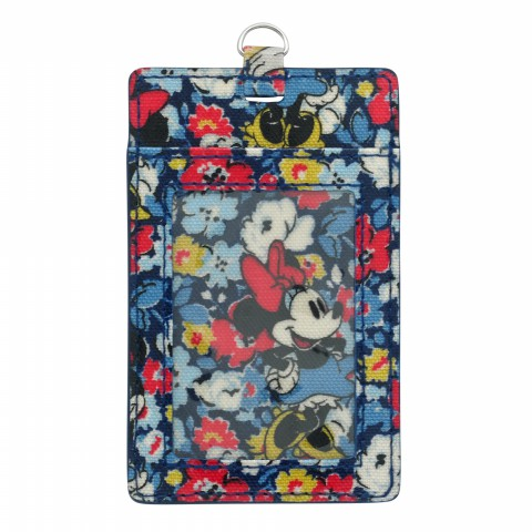DISNEY  I.D TAG MINNIE MEWS DITSY BLUE