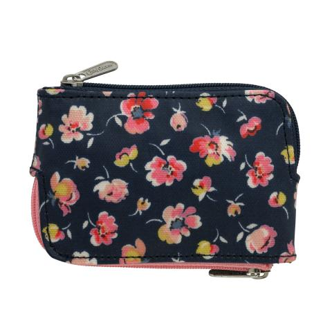 MULTI ZIP PURSE MALLORY DITSY NAVY