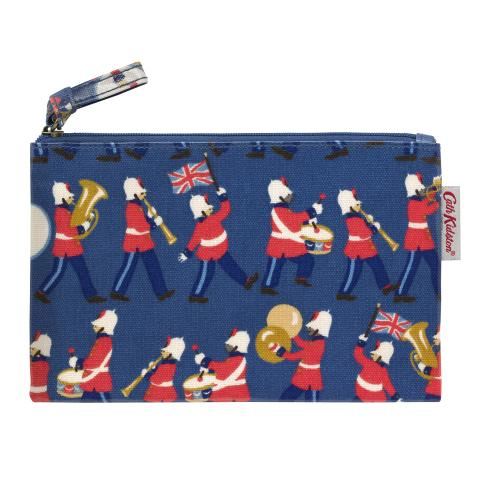 ZIP PURSE MARCHING BAND MID BLUE