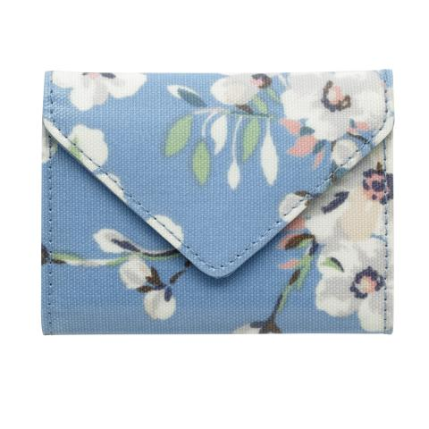 ENVELOPE CARD HOLDER WELLESLEY BLOSSOM SOFT BLUE