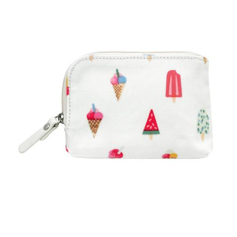 SINGLE ZIP AROUND CARD PURSE LOLLIES STONE