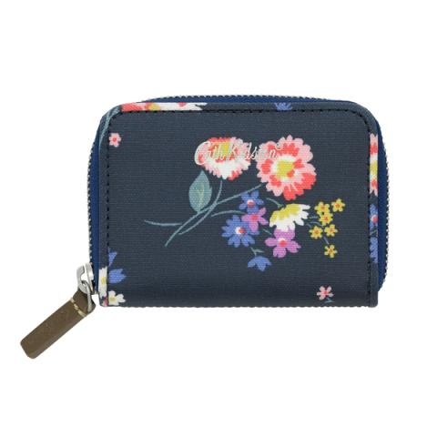 MINI CONTINENTAL WALLET BUSBY BUNCH NAVY